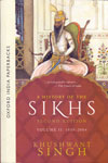 A History of the Sikhs Vol II 1839 To 2004