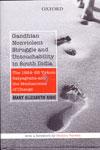 Gandhian Nonviolent Struggle and Untouchability in South India