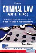 Criminal Law Part II Cr P C