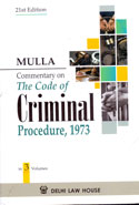 Commentary On The Code Of Criminal Procedure 1973 In 3 Vols