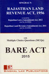 Rajasthan Land Revenue Act 1956 With Multiple Choice Questions Bare Act