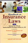 Handbook on Insurance Laws With Insurance Act 1938 and Insurance Regulatory Development Authority Act 1999