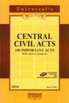 Central Civil Acts 100 Important Acts With Short Comments