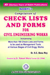 Compilation of Check Lists and Forms for Civil Engineering Works