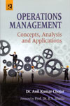 Operations Management Concepts Analysis and Applications