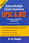 Solved Multiple Choice Questions UPSC and MD Entrance Examination Homeopathy Part II
