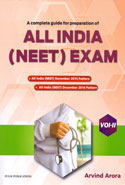 A Guide for Preparation of All India NEET Exam 2016-17 Vol II