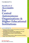 Handbook of Accounts for Central Autonomous Organizations and Higher Educational Institutions