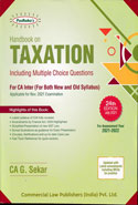 Handbook on Taxation for CA Inter IPC New and Old Syllabus