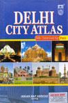 Delhi City Atlas With Faridabad Ghaziabad Gurgaon Noida