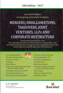 Law and Procedure for Mergers Amalgamations Takeovers Joint Ventures LLPs and Corporate Restructure