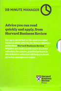 HBR 20 Minute Manager Series Set of 10 Books