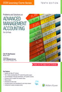 Problems and Solutions on Advanced Management Accounting for CA Final