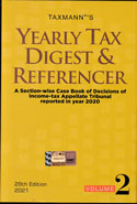 Yearly Tax Digest and Referencer In 2 Vols