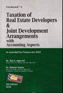 Taxation of Real Estate Developers and Joint Development Arrangements With Accounting Aspects