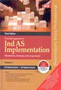 Practical Approach to Ind AS Implementation Illustrations Summary and Comparisons In 2 Vols