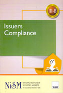 Issuers Compliance for NISM Certification Examination Work Book III B