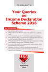 Your Queries on Income Declaration Scheme 2016 IDS