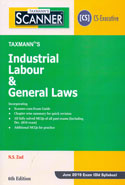 Scanner Industrial Labour and General Laws for CS Executive June 2019 Exam Old Syllabus