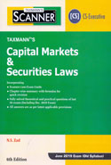 Scanner Capital Markets and Securities Laws for CS Executive June 2019 Exam Old Syllabus