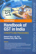 Handbook of GST in India Concepts and Procedures