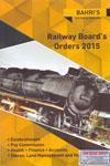 Railway Boards Orders 2015