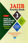 JAIIB Practice Book 3 Legal and Regulatory Aspects of Banking With Notes and MCQs