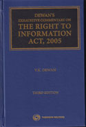 Exhaustive Commentary on the Right to Information Act 2005