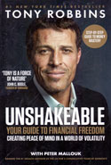 Unshakeable Your Guide to Financial Freedom Creating Peace of Mind in a World of Volatility