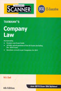 Scanner Company Law for CS Executive June 2019 Exam Old Syllabus