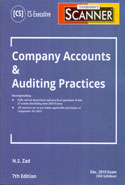 Scanner Company Accounts and Auditing Practices for CS Executive June 2019 Exam Old Syllabus