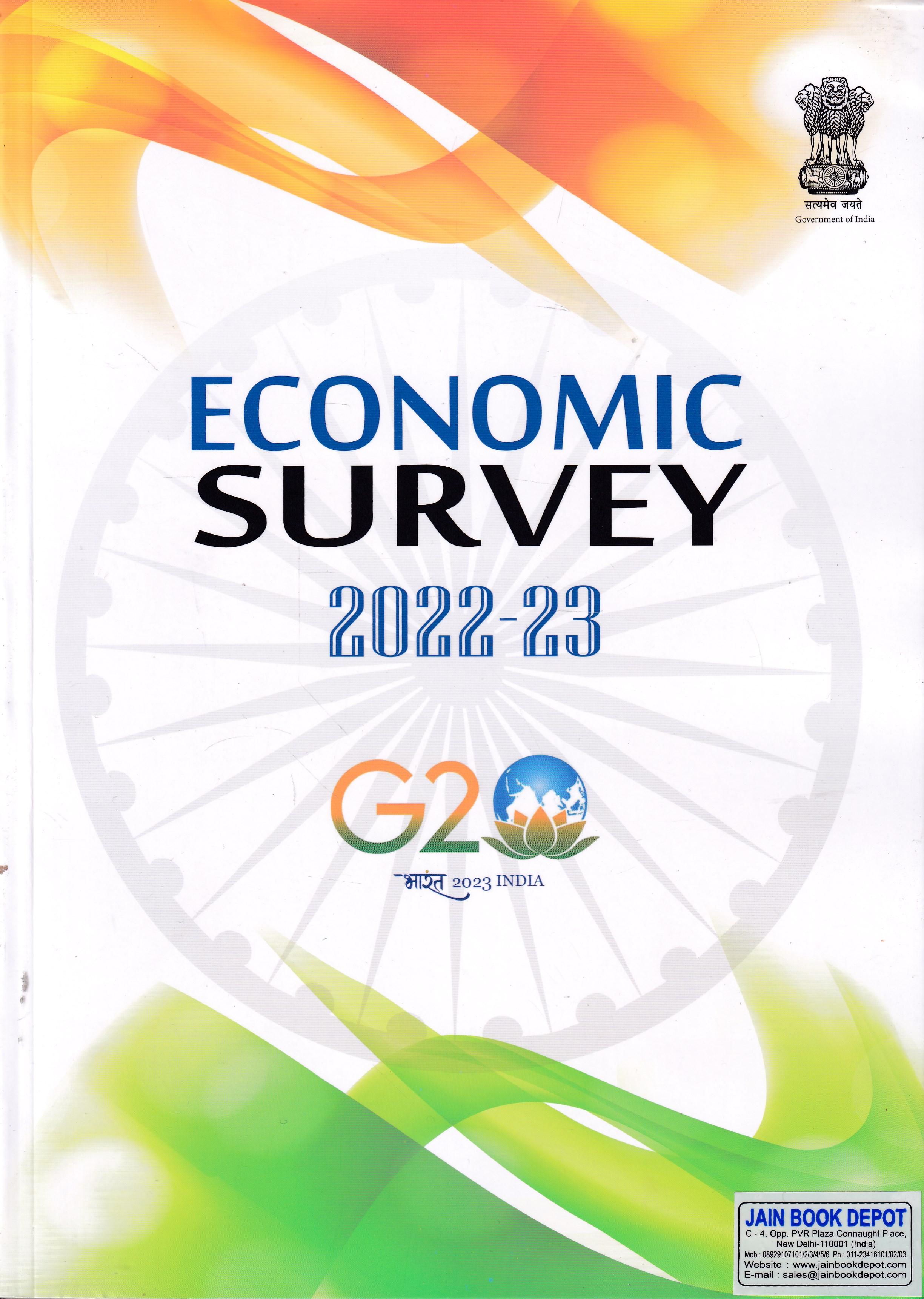 Economic Survey 2018-19 In 2 Vols