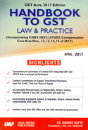 Handbook to GST Law and Practice