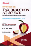 Handbook on Tax Deduction at Source Including Tax Collection at Source