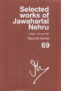 Selected Works of Jawaharlal Nehru 16 May - 30 June 1961 Second Series Volume 69