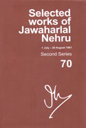 Selected Works of Jawaharlal Nehru 1 July - 20 August 1961 Second Series Volume 70