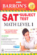 Barrons the Leader in Test Preparation SAT Subject Test Math Level 1