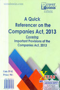 A Quick Referencer on the Companies Act 2013