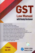 GST Law Manual With Ready Reckoner