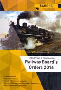 Railway Boards Orders 2016