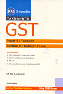 GST For CA Intermediate Paper 4 Taxation Section B Indirect Taxes As Per Old New Syllabus