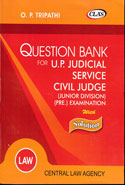 Question Bank For UP Judicial Service Civil Judge Junior Division Preliminary Examination With Solution