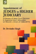 Appointment of Judges in Higher Judiciary