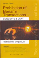 Prohibition of Benami Transactions Concepts and Law
