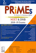 PRIMEs PG Review in Minimum Efforts NEET and DNB 2018-19 Exams Basic Sciences Volume I