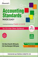 Accounting Standards Made Easy For CA Inter New Syllabus