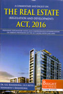 A Commentary and Digest on the Real Estate Regulation and Development Act 2016