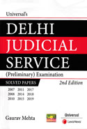 Delhi Judicial Service Preliminary Examination Solved Papers