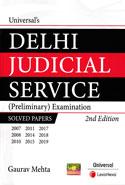 Delhi Judicial Service Preliminary Examination Solved Papers