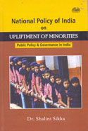 National Policy of India on Upliftment of Minorities Public Policy and Governance in India